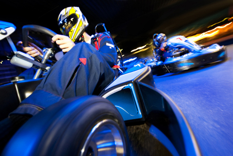 Go Karting indoor in Newcastle
